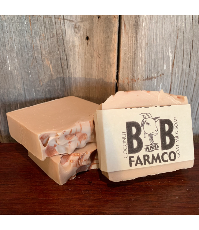 B and B FarmCo Goat Milk Soap