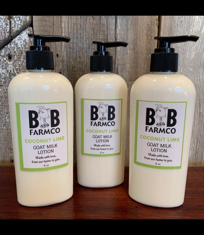 B and B FarmCo Goat Milk Lotion 8oz