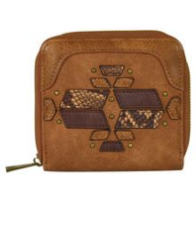 Catchfly Catchfly Small Wallet Tonal with Python