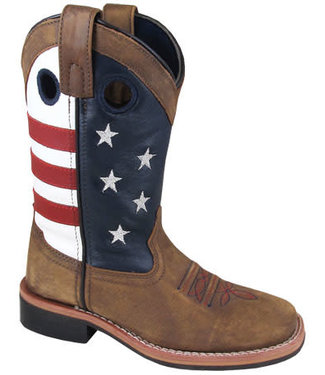Smoky Mountain Stars and Stripes Kids Boot 3880
