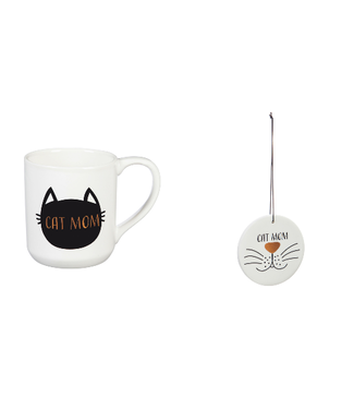 Evergreen Enterprises Ceramic Mug with Ornament/Coaster Gift Set