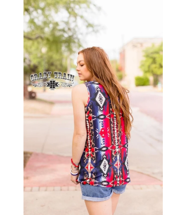 Crazy Train Clothing Independence Woman Tank
