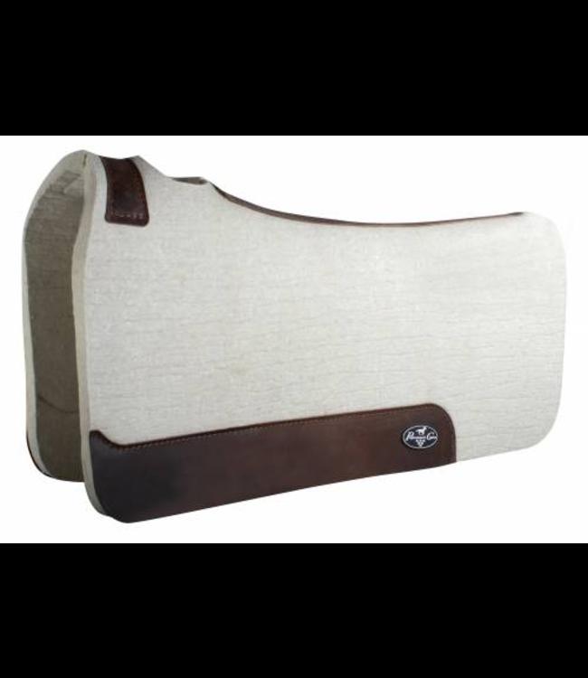 "Professional's Choice Comfortfit Wool Saddle Pad  3/4"" Tan 31""x32"""