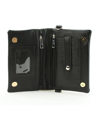 Comeco Inc Horses Convertible Wallet Clutch in Vinyl