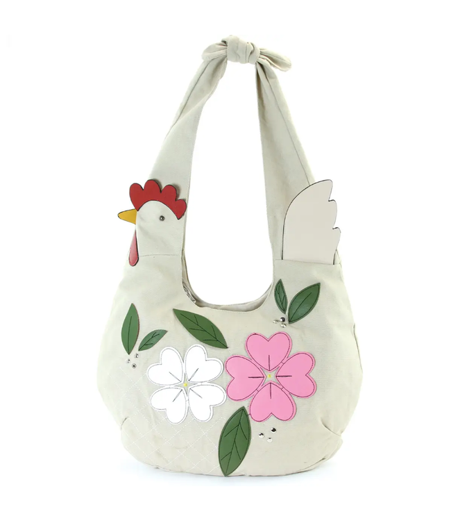 Comeco Inc Floral Chicken Hobo