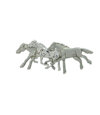 Exselle Three Horse Stock Pin