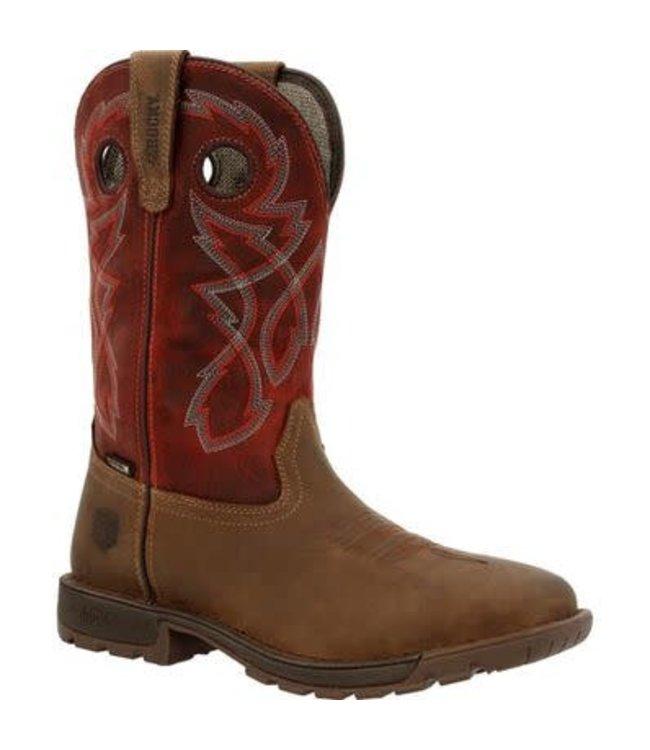 Rocky Legacy 32 Steel Toe Waterproof Western Boot