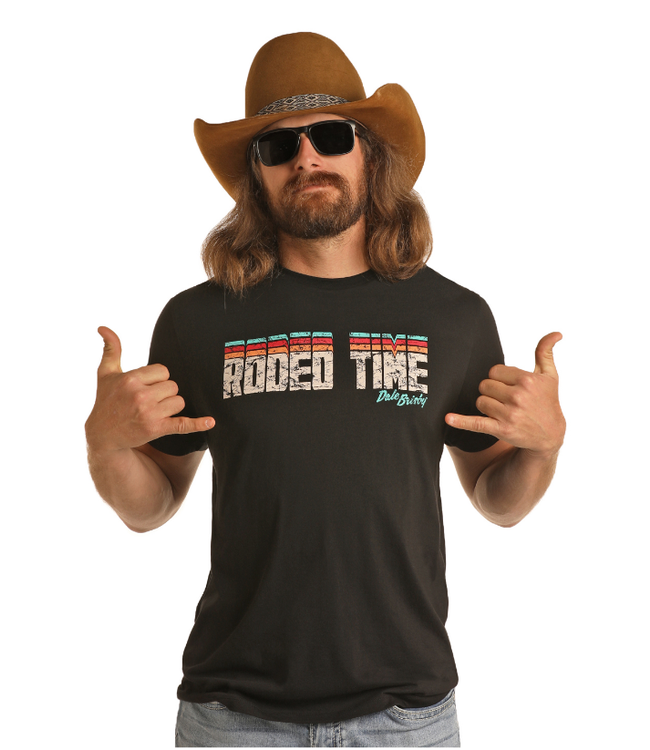 Panhandle Slim Dale Brisby Rodeo Time T-Shirt