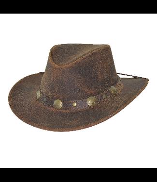 Bullhide Crackled Leather Hat