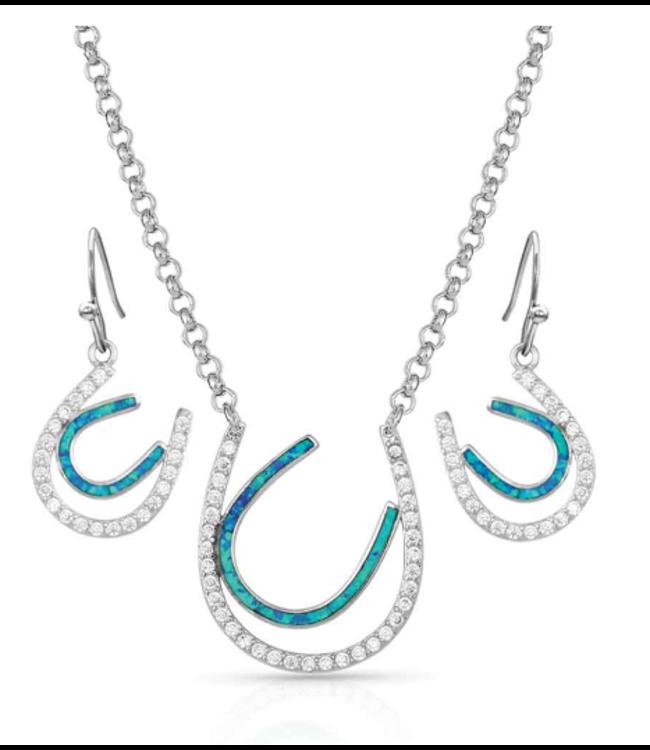 Montana Silversmith Tipping Luck Jewelry Set