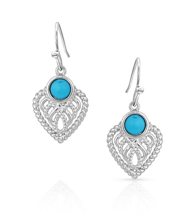 Montana Silversmith At the Center Heart Earrings