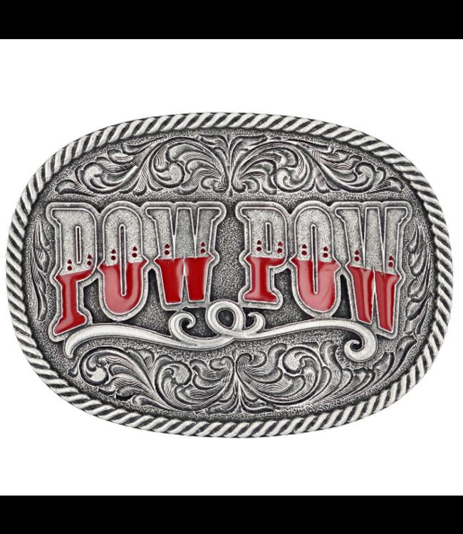 Montana Silversmith Attitudes Buckle Dale Brisby Pow Pow