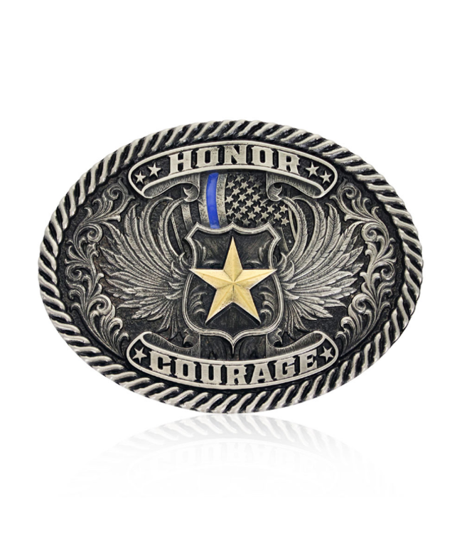 Montana Silversmith Honor & Courage Attitude Buckle