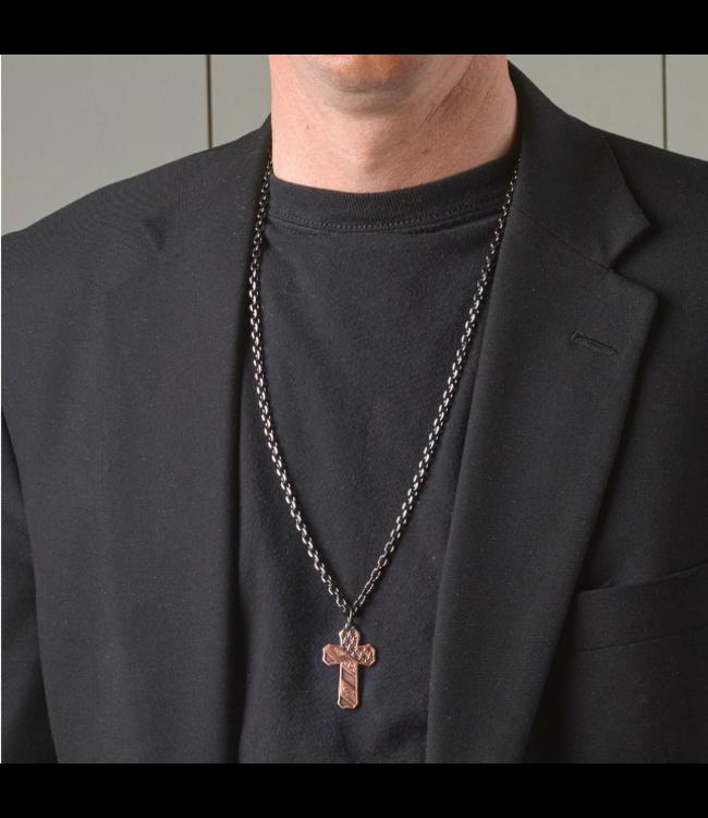 Montana Silversmith Faded Glory Cross Necklace