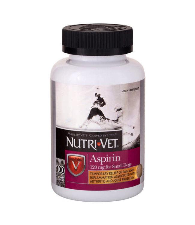 Nutri-Vet Aspirin for Dogs Small Dog, 100's