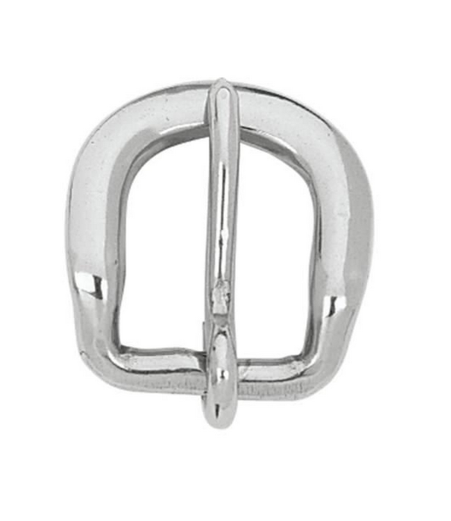 """Beveled Buckle SS 3/4"""""""
