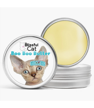 The Blissful Cat Boo Boo Butter for Cats 1oz Tin