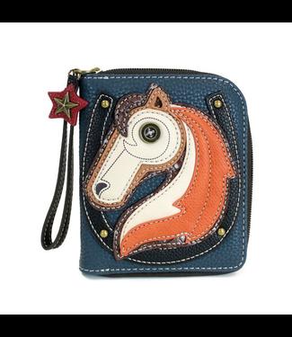 Chala Handbags Zip-Around Wallet