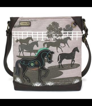 Chala Handbags Crossbody Safari Horse