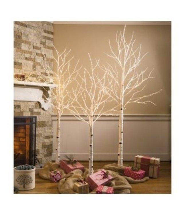 Evergreen Enterprises Birch Tree with 300 Micro Lights 4'