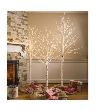 Evergreen Enterprises Birch Tree with 400 Micro Lights 5'