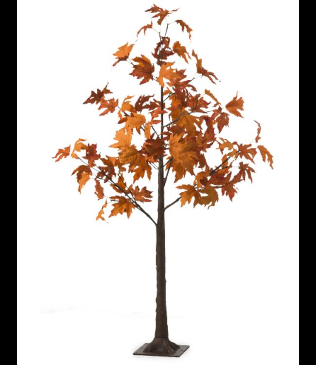 Indoor/Outdoor LED Maple Tree 4'