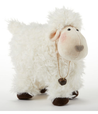 Delton Standing Fuzzy Sheep