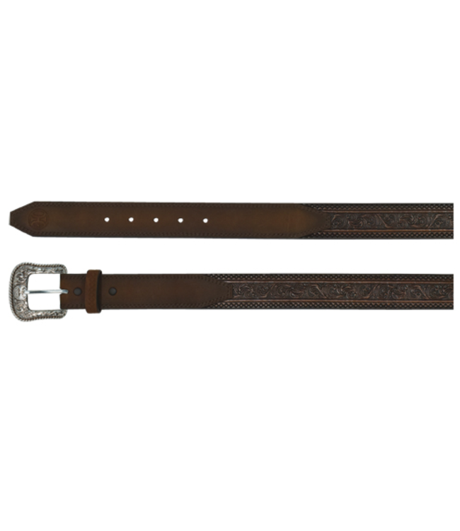 Hooey Hooey Men's Belt Scroll Tooling