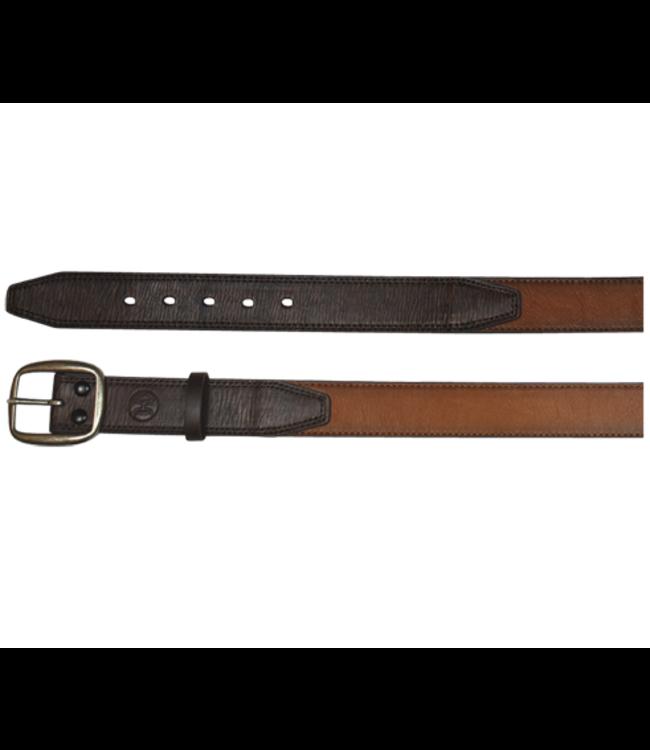 Hooey Men's Belt Tan w/Dark Brown Billet