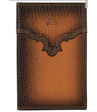 Justin Low Profile Rodeo Wallet Burnished