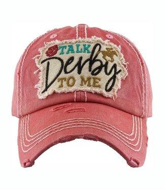 """""""Talk Derby To Me"""" Cap"""