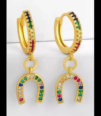 Over The Rainbow Lucky Earrings