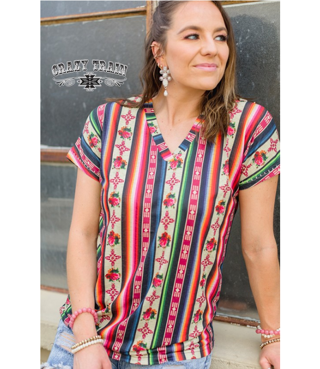 Crazy Train Clothing Forever Fiesta Top