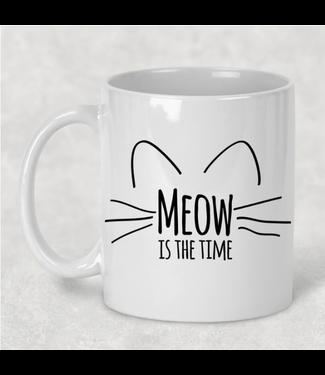 Dasha Alexander Meow Is The Time Mug