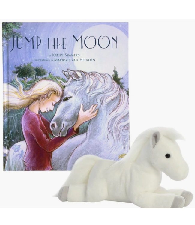 'Jump The Moon' Book + Pony Gift Set