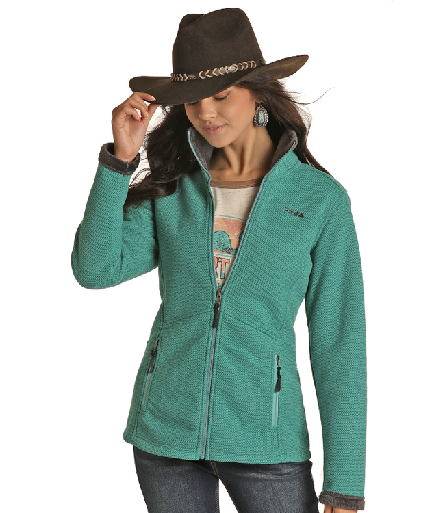 Powder River Outfitters Ladies LS Full Zip Jacket