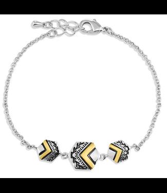 Montana Silversmith Charmed Chevron Silver Bracelet