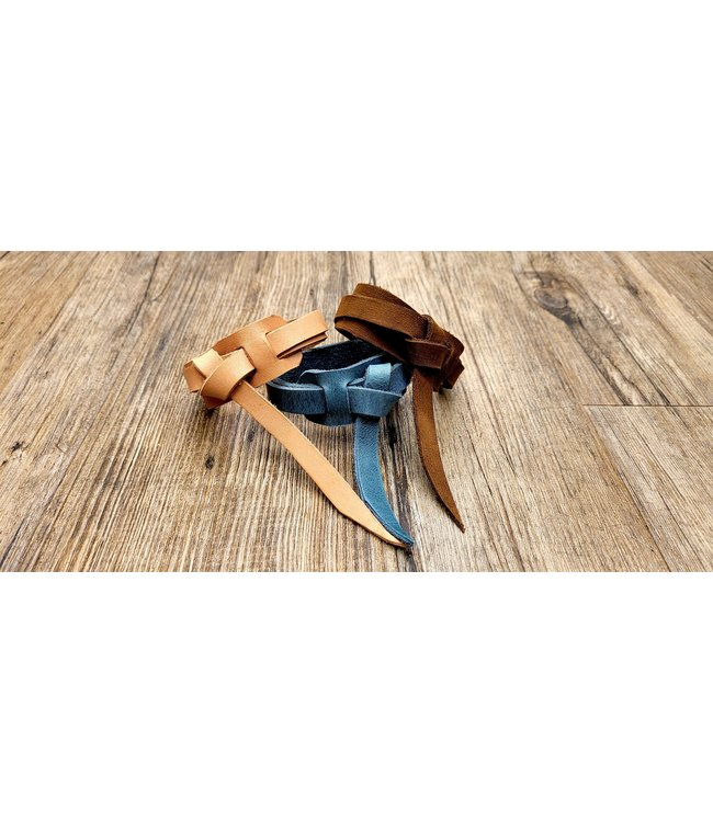 Beyond the Barn Leather Wrap Bracelet BTB