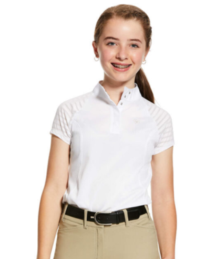 Ariat Girls Aptos Vent SS Show Shirt