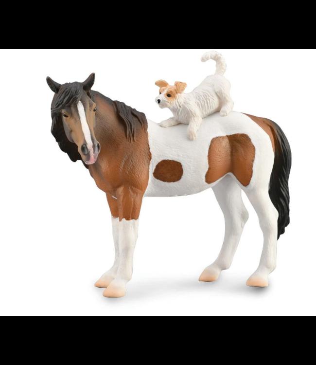 Breyer Breyer Collecta Mare and Terrier