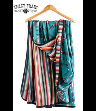 Crazy Train Clothing Desperado Dreams - Adult Blanket Serape/Aztec