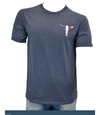 Cowboy Hardware Men's Freedom is Never Free SS T