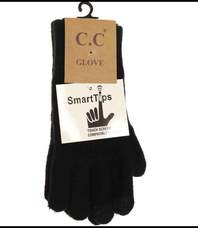 C.C CC Classic Knit Gloves G9018
