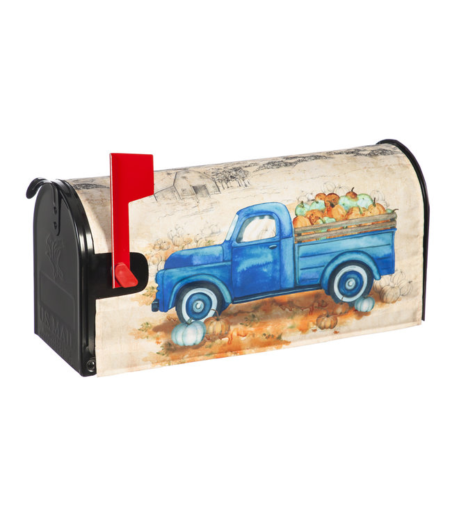 Evergreen Enterprises Pumpkin Farm Truck Mailbox Cover