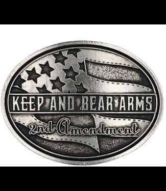 Montana Silversmith Keep and Bear Arms Belt Buckle