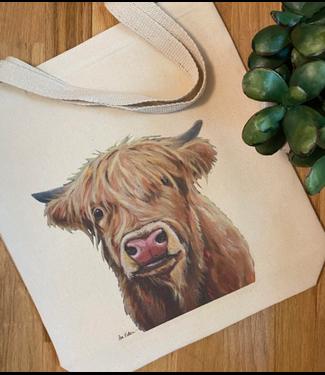 Hippie Hound Studios Gusset Tote Bags - Farm Animals