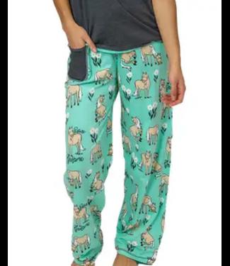 Lazy One Womens Regular Fit PJ Pant