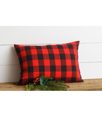 Pillow - Red/Black Buffalo Plaid