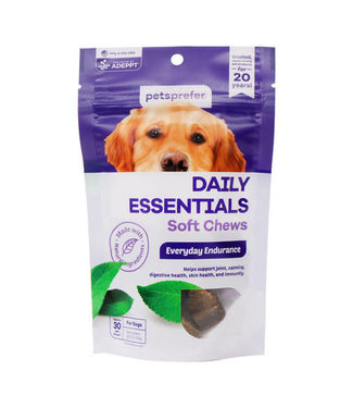 Pets Prefer Daily Essentials Soft Chews for Dogs