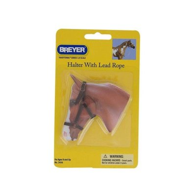 Breyer Leather Halter with Lead